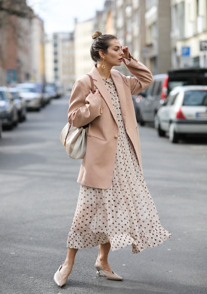 How To Style Sheer Dresses For Spring 2021 & Beyond