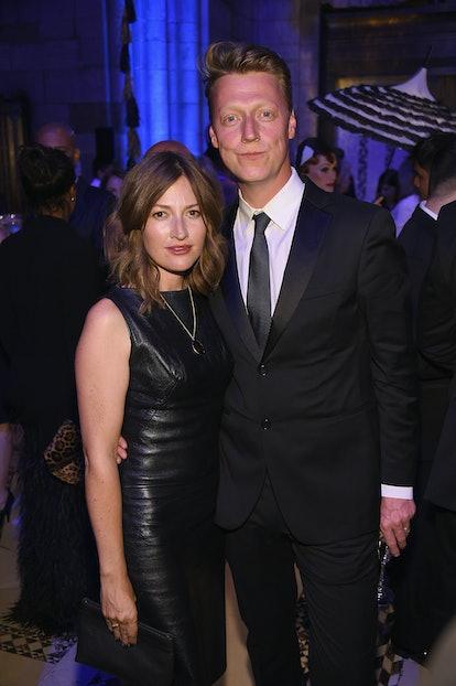 Kelly Macdonald and her ex-husband, Travis bassist Dougie Payne