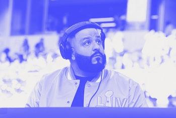 DJ Khaled at a a concert