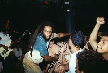 HR of Bad Brains during Bad Brains in Concert at Wetlands - 1990 at Wetlands in New York, New York, ...