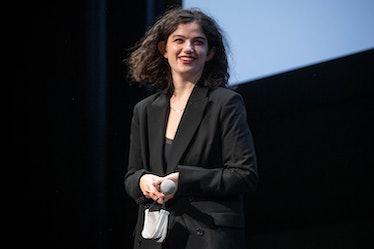 TORONTO, ONTARIO - SEPTEMBER 17: Emma Seligman speaks onstage at the 2020 Toronto International Film...