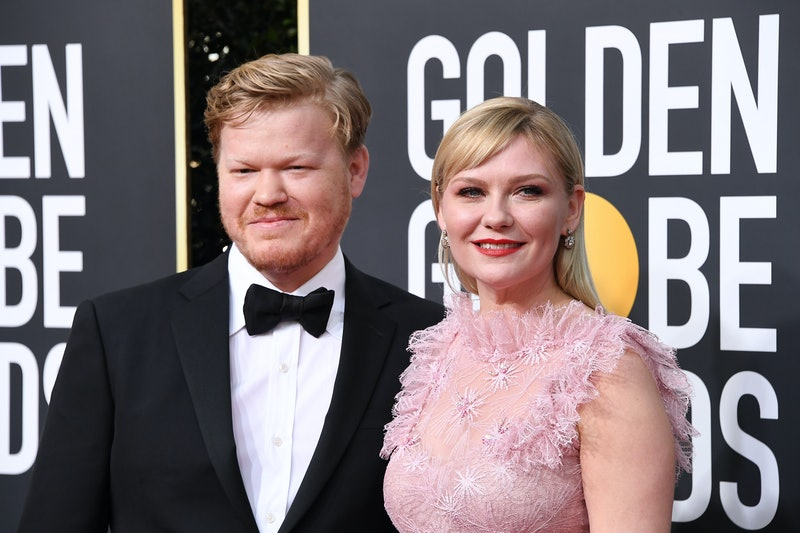 BEVERLY HILLS, CALIFORNIA - JANUARY 05: Jesse Plemons and Kirsten Dunst attend the 77th Annual Golden Globe Awards at The Beverly Hilton Hotel on January 05, 2020 in Beverly Hills, California. (Photo by Steve Granitz/WireImage)