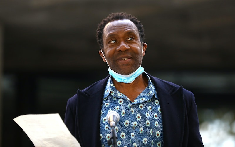 LONDON, ENGLAND - SEPTEMBER 01: Sir Lenny Henry attends an event to lend support for an appeal to raise funds to support jobs across the Arts at The National Theatre on September 01, 2020 in London, England.  (Photo by Tim P. Whitby/Getty Images)