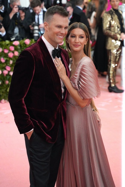 NEW YORK, NY - MAY 6: Tom Brady and Gisele Bundchen attend The Metropolitan Museum Of Art's 2019 Cos...