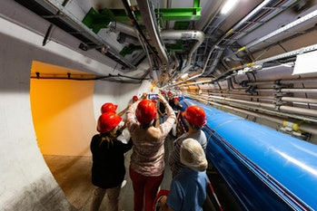 cern particle collider