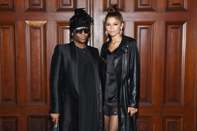 NEW YORK, NEW YORK - SEPTEMBER 11: Law Roach and Zendaya attend the Marc Jacobs Spring 2020 Runway Show at Park Avenue Armory on September 11, 2019 in New York City. (Photo by Jamie McCarthy/Getty Images for Marc Jacobs)