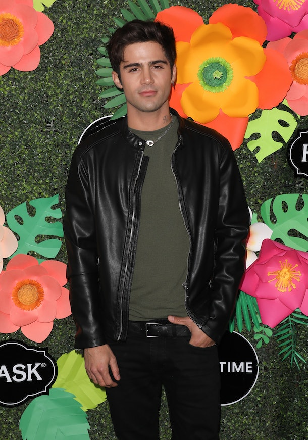 LOS ANGELES, CALIFORNIA - MAY 20: Actor Max Ehrich attends the Lifetime's Summer Luau at the W Los Angeles - Westwood on May 20, 2019 in Los Angeles, California. (Photo by Paul Archuleta/FilmMagic)