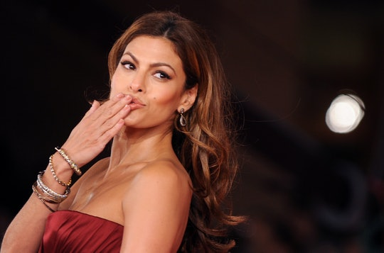 Eva Mendes got a makeover from her daughters.