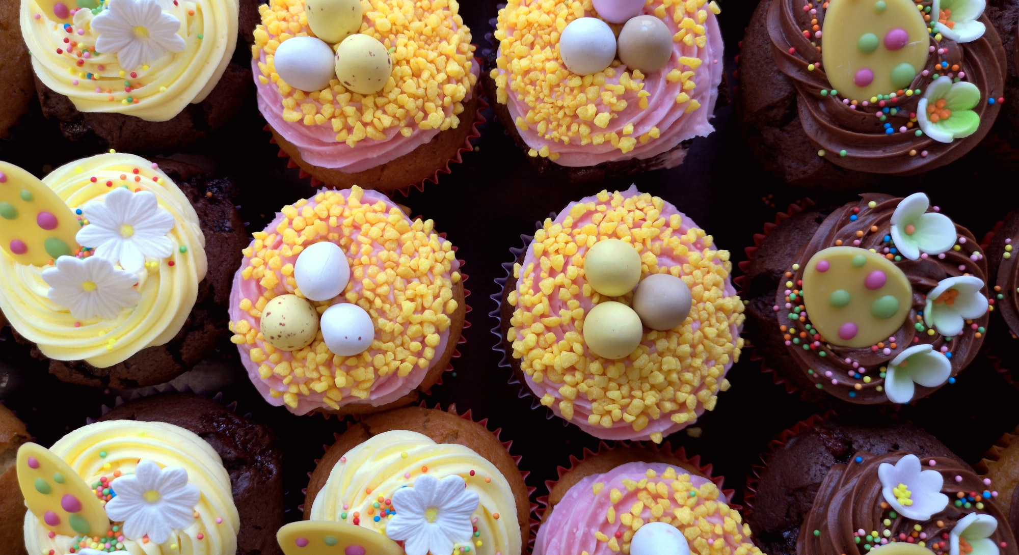 Easter cupcakes are easy to whip together.