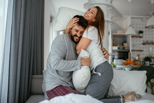 Standing sex is a great choice if you're having some back pain.