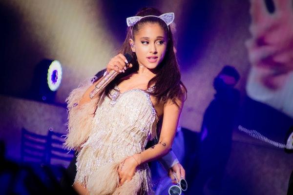 American singer Ariana Grande in concert at the Mediolanum Forum in Assago. Milan (Italy), May 25th, 2015 (Photo by Marco Piraccini/Archivio Marco Piraccini/Mondadori Portfolio via Getty Images)