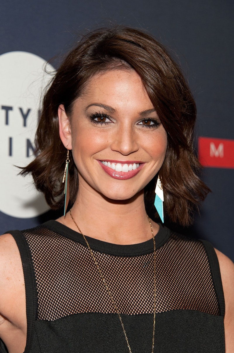 NEW YORK, NY - FEBRUARY 19:  Melissa Rycroft attends the Matrix Biolage Cleansing Conditioner Launch Event at Crosby Street Hotel on February 19, 2015 in New York City.  (Photo by D Dipasupil/Getty Images)