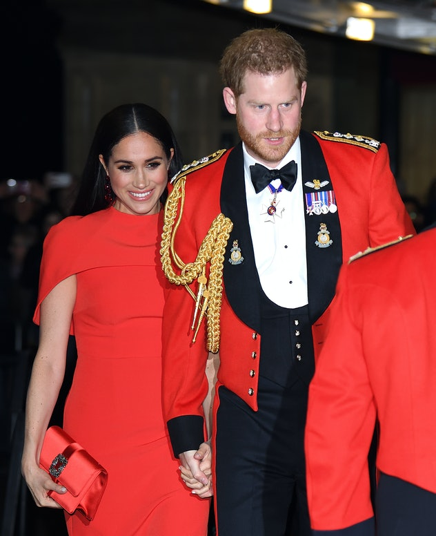 Prince Harry and Meghan Markle in 2020.