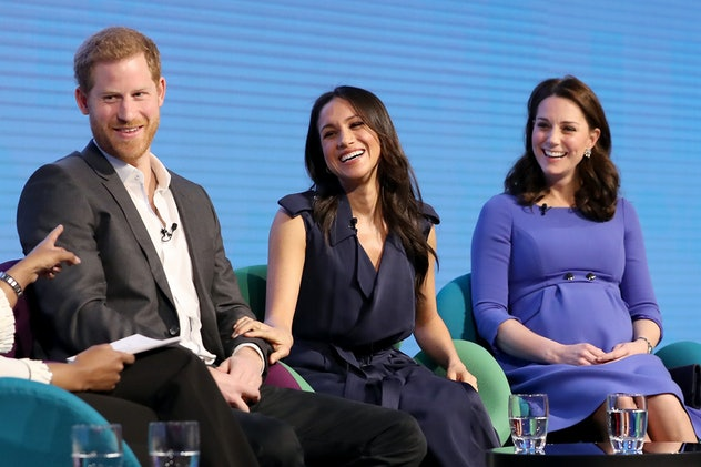 Prince Harry and Meghan Markle together in 2018.