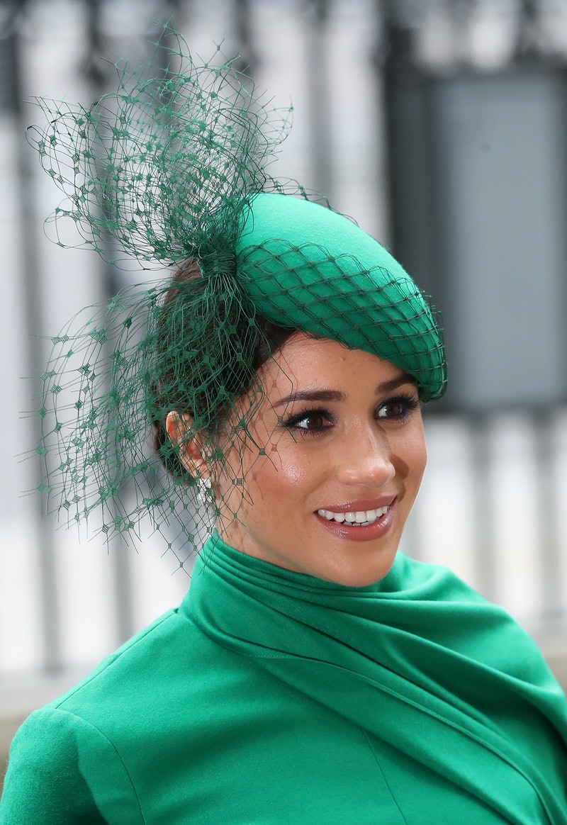 Meghan Markle at a royal event in 2020. Photo via Getty