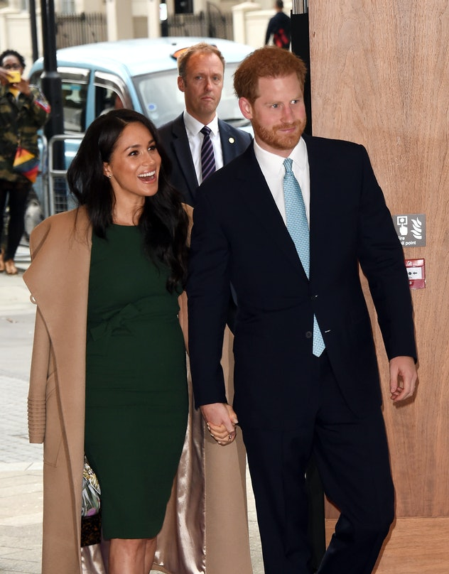 Meghan Markle and Prince Harry at WellChild Awards 2019.