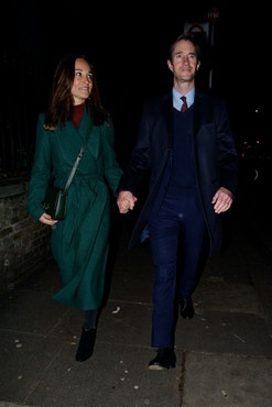 Pippa Middleton is pregnant with her second child with her husband James Matthews.