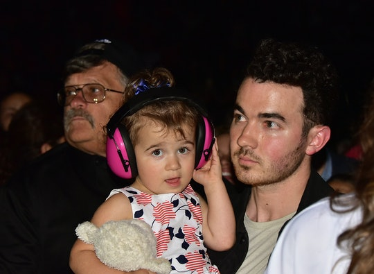 Kevin Jonas' two daughters pretended to be the Jonas Brothers in a hilarious video posted to Instagr...