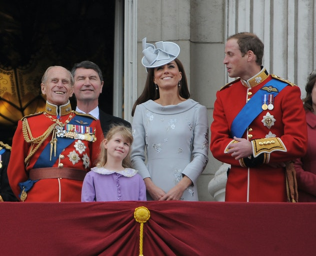 Prince Philip at Trooping The Colours.