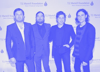 Kings of Leon at event