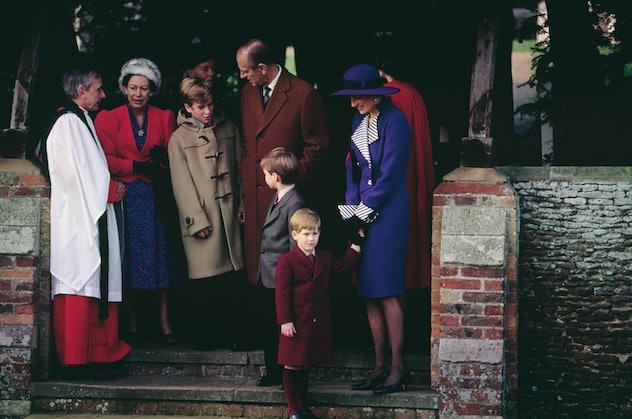 Prince Philip Christmas 1990.