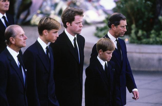 Princess Diana's funeral, 1997.