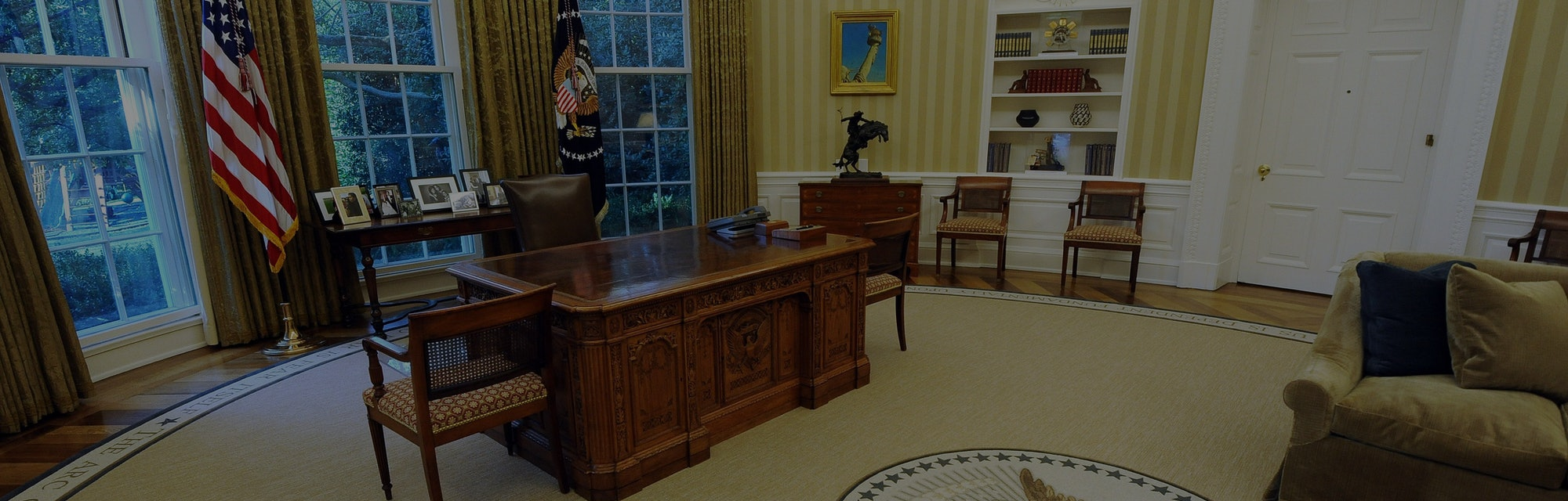 White House oval office.