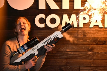 The Boring Company not-a-flamethrower.