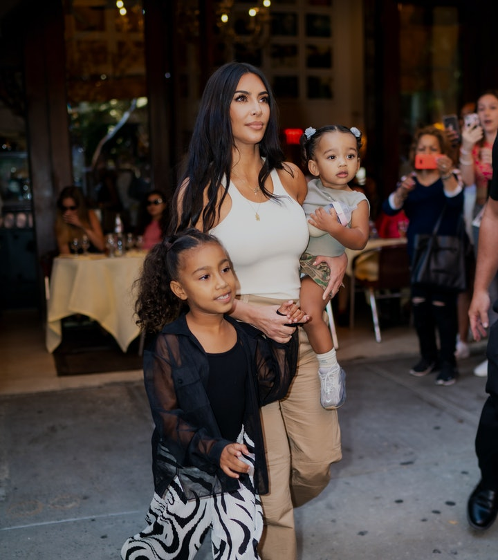 kim kardashian and children