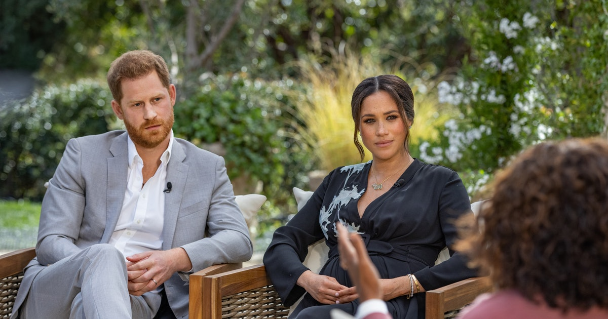 Meghan Markle's Oprah Interview Makeup Was All About Self-Expression