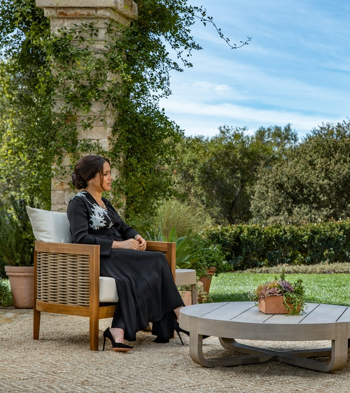 In this handout image provided by Harpo Productions and released on March 5, 2021, Oprah Winfrey int...