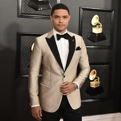 LOS ANGELES, CA - JANUARY 26: Trevor Noah attends the 62nd Annual Grammy Awards at Staples Center on...