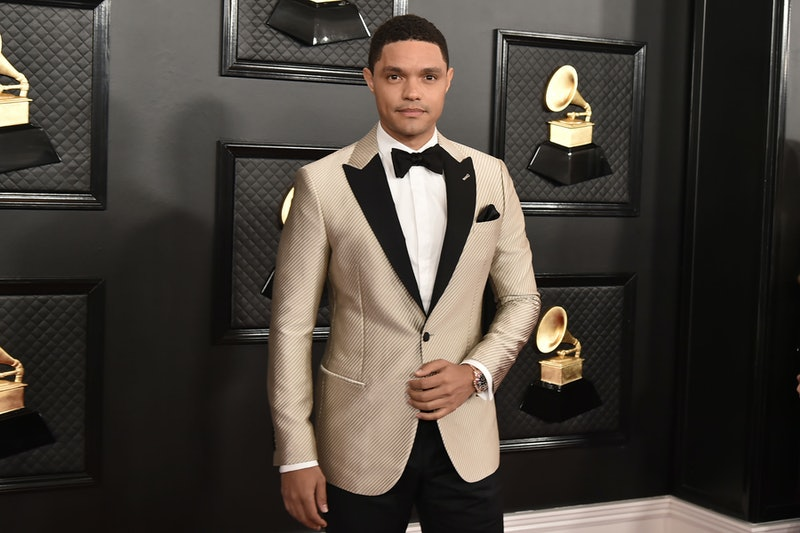 LOS ANGELES, CA - JANUARY 26: Trevor Noah attends the 62nd Annual Grammy Awards at Staples Center on January 26, 2020 in Los Angeles, CA. (Photo by David Crotty/Patrick McMullan via Getty Images)