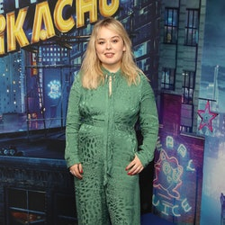 """LONDON, ENGLAND - MAY 02:  Nicola Coughlan attends the """"Pokémon Detective Pikachu"""" London Pop Up at Covent Garden on May 02, 2019 in London, England. (Photo by Mike Marsland/WireImage)"""