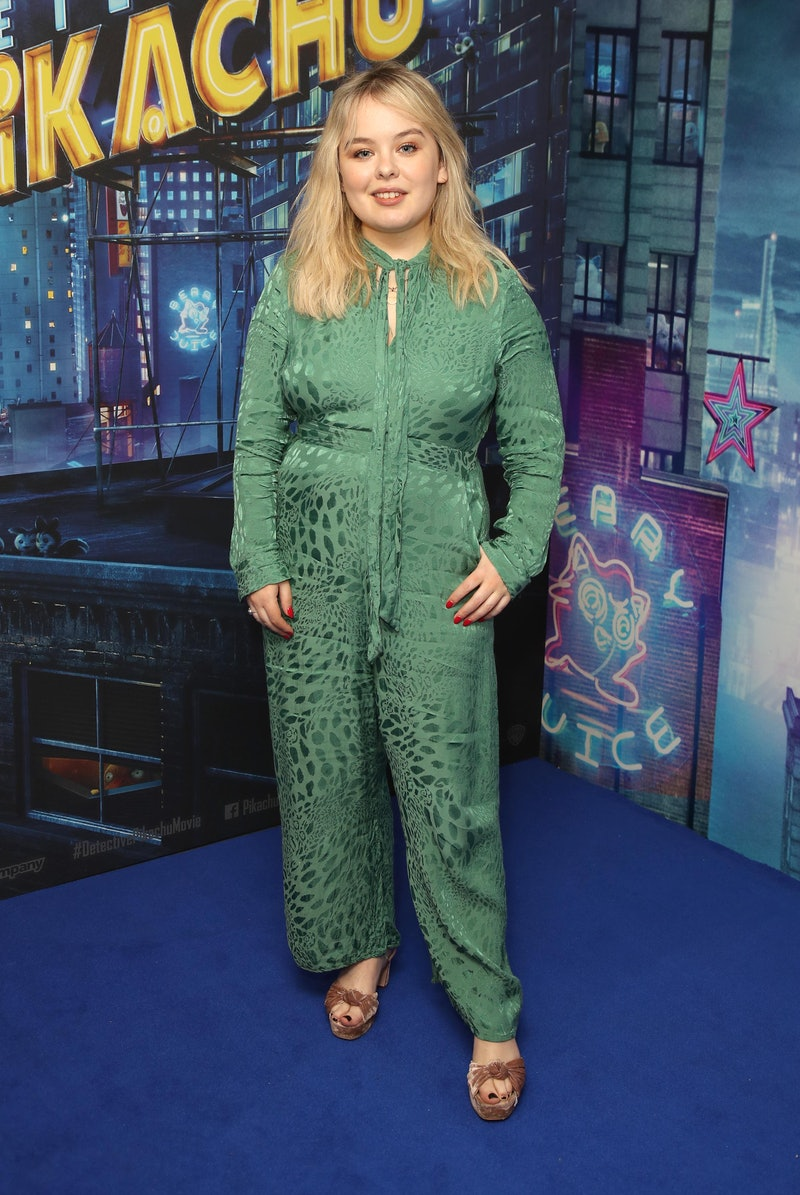"LONDON, ENGLAND - MAY 02:  Nicola Coughlan attends the ""Pokémon Detective Pikachu"" London Pop Up at Covent Garden on May 02, 2019 in London, England. (Photo by Mike Marsland/WireImage)"