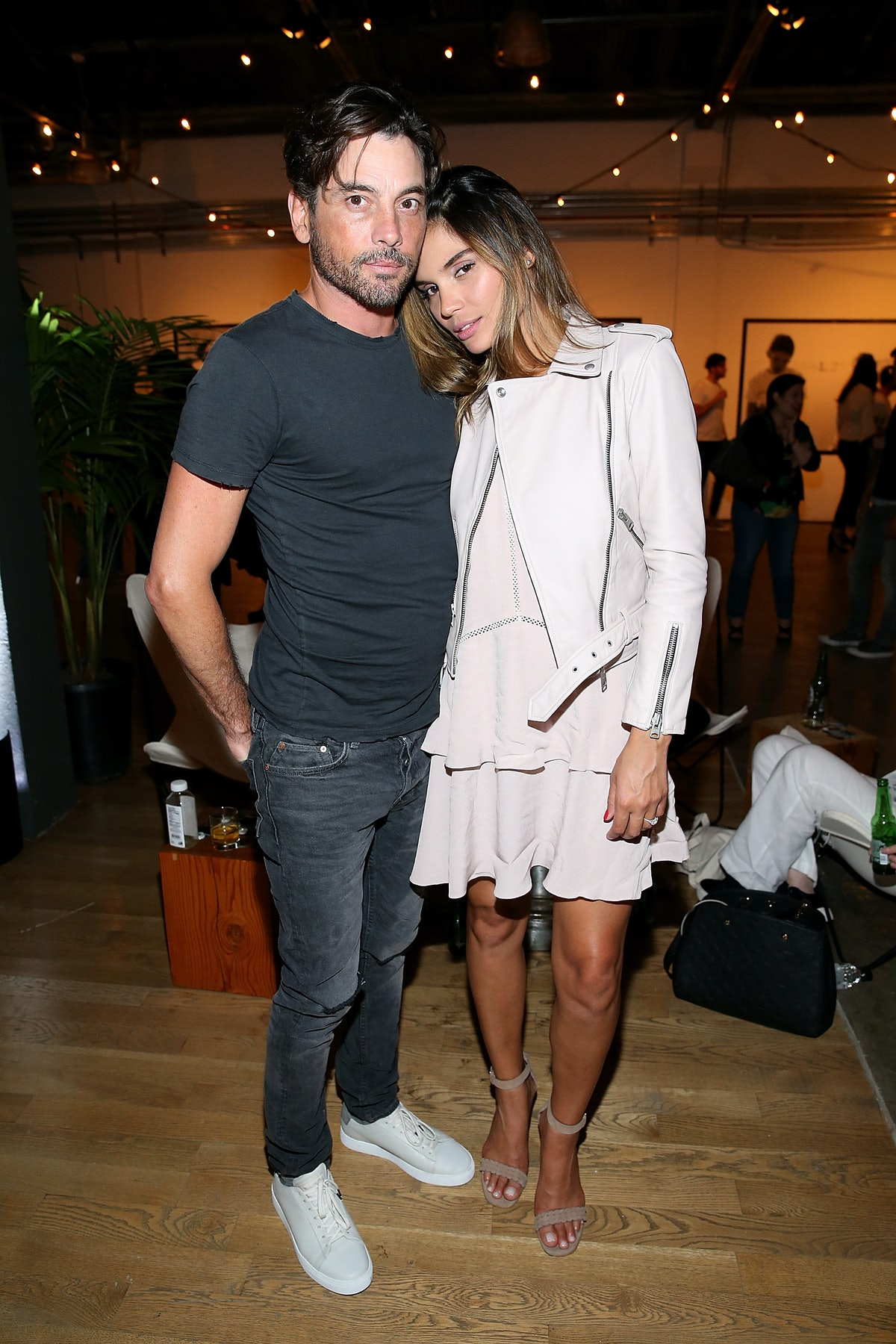 HOLLYWOOD, CA - JUNE 28:  Actor Skeet Ulrich and Rose Costa attend AllSaints Ed Templeton Launch at LA Studios on June 28, 2017 in Hollywood, California.  (Photo by Phillip Faraone/Getty Images)