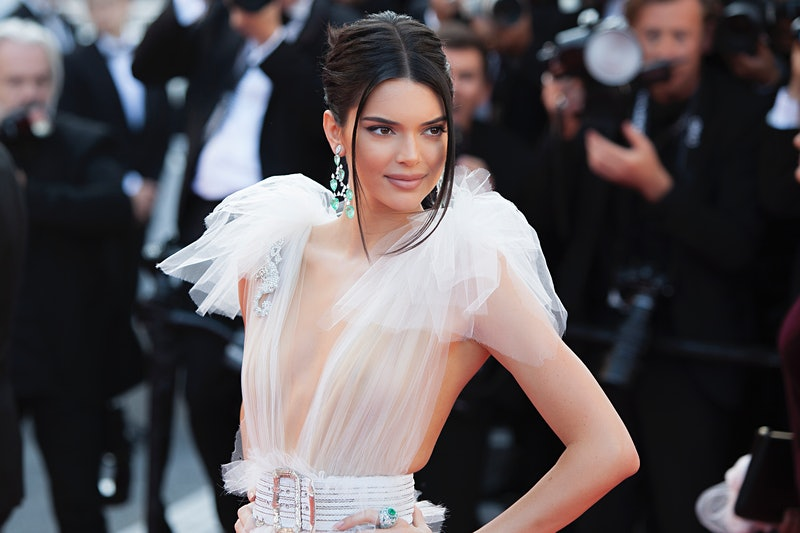 CANNES, FRANCE - MAY 12: Kendall Jenner attends the screening of 'Girls Of The Sun (Les Filles Du So...