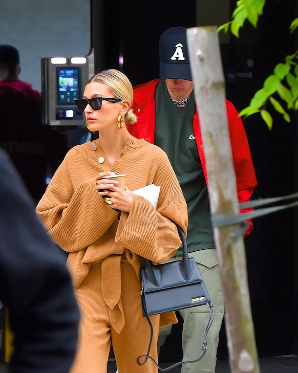 NEW YORK, NY - MAY 03:  Justin Bieber and Hailey Baldwin seen out and about in Manhattan on May 3, 2019 in New York City.  (Photo by Robert Kamau/GC Images)
