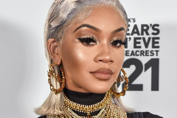 LOS ANGELES, CA – DECEMBER 31st: In this image released on December 31, Saweetie arrives at Dick Clark's New Year's Rockin' Eve with Ryan Seacrest 2021 broadcast on December 31, 2020 and January 1, 2021. (Photo by Alberto E. Rodriguez/Getty Images for dick clark productions)