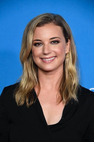 ANAHEIM, CALIFORNIA - AUGUST 23: Emily VanCamp attends D23 Disney Legends event at Anaheim Conventio...