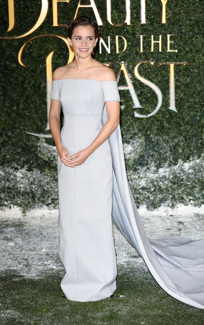 """LONDON, ENGLAND - FEBRUARY 23:  Emma Watson attends UK launch event for """"Beauty And The Beast"""" at Spencer House on February 23, 2017 in London, England.  (Photo by Tim Whitby/Tim Whitby/Getty Images)"""