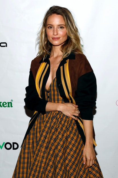 """NEW YORK, NEW YORK - MARCH 30: Dianna Agron attends the """"Shiva Baby"""" NY Premiere presented by Utopia..."""