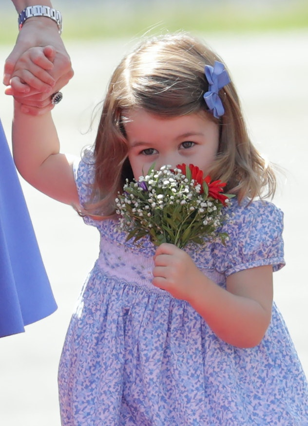 Princess Charlotte in Germany, 2017.