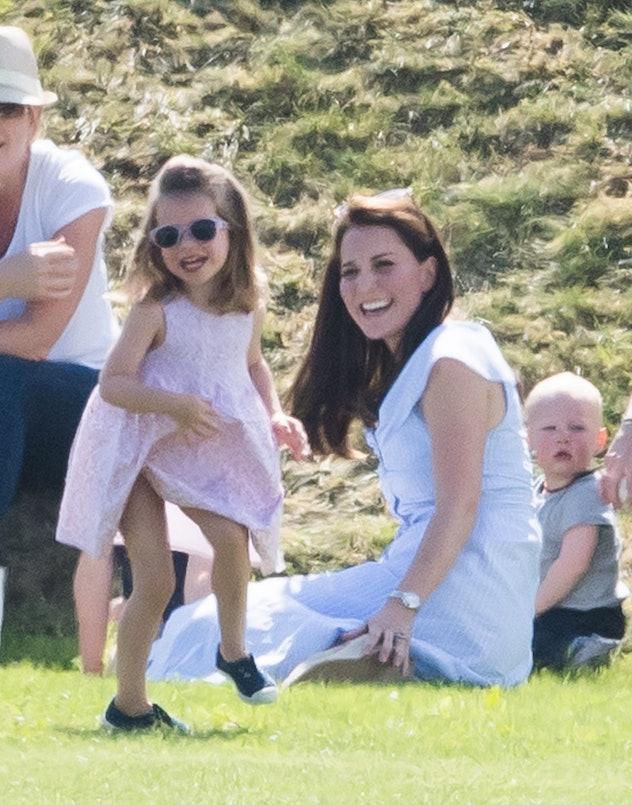 Princess Charlotte at a polo match, 2018.