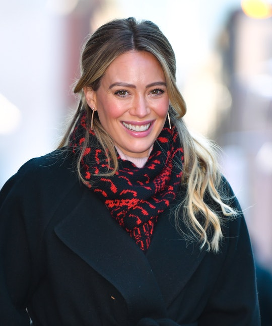 Hilary Duff is a busy mom of three.