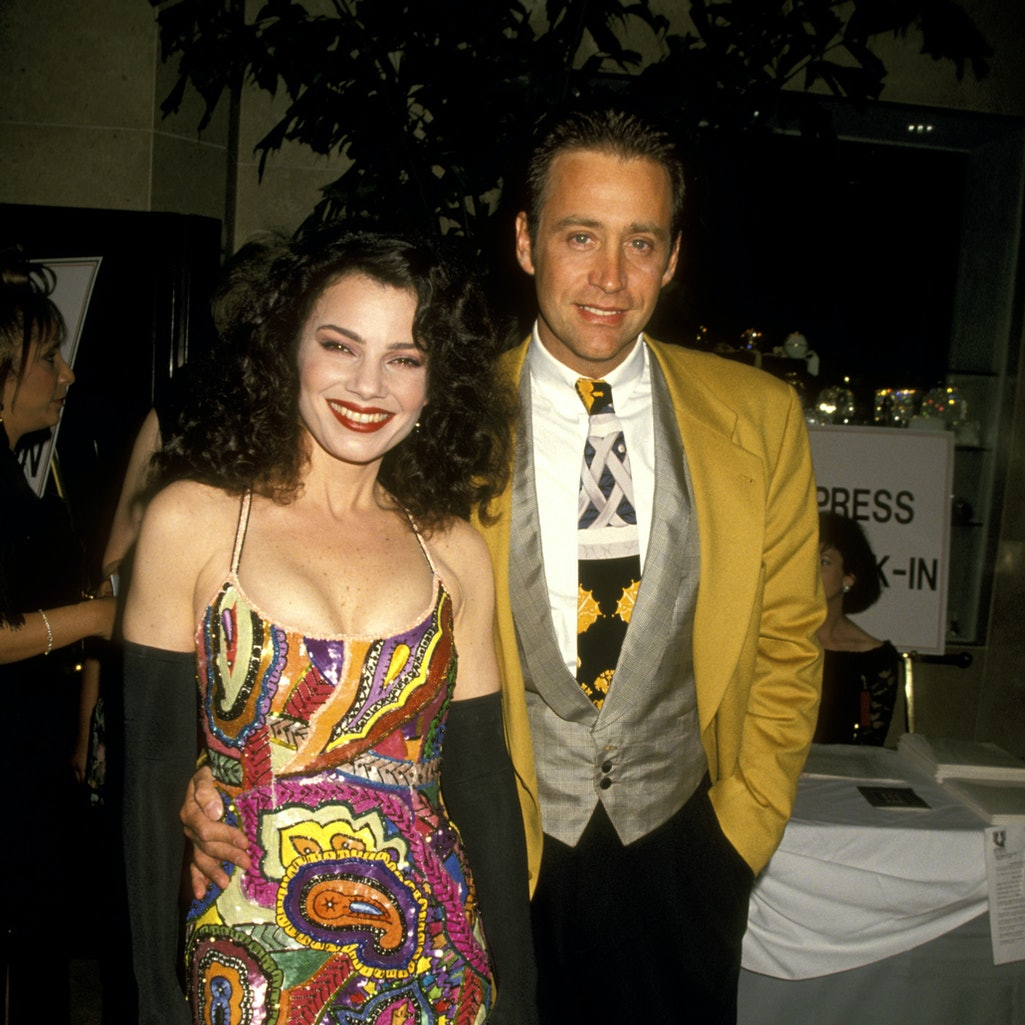 Fran Drescher and husband Peter Marc Jacobson (Photo by Ron Galella/Ron Galella Collection via Getty Images)