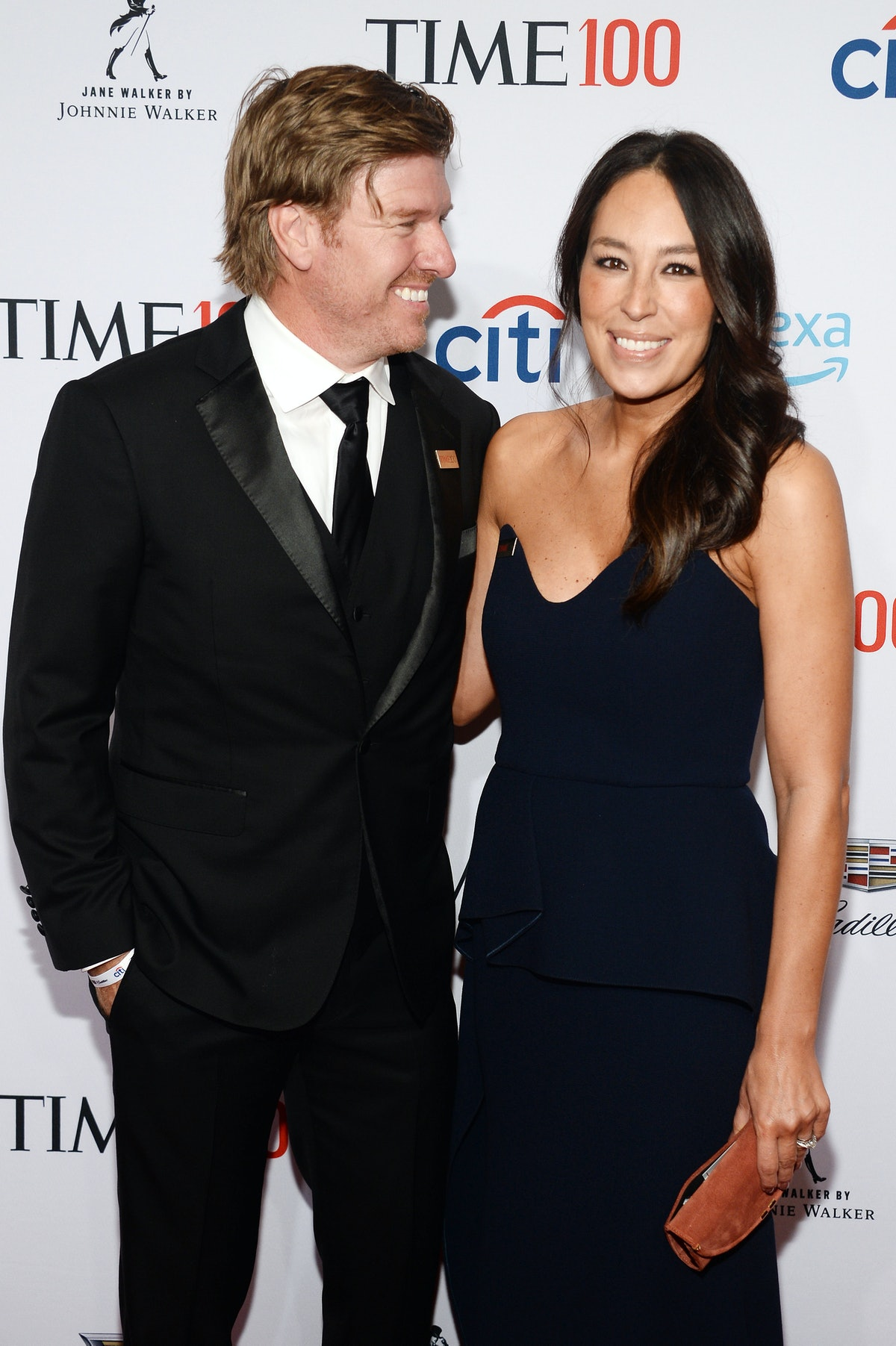 NEW YORK, NEW YORK - APRIL 23: Chip Gaines and Joanna Gaines attend the TIME 100 Gala 2019 Lobby Arr...