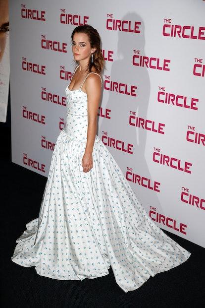"""PARIS, FRANCE - JUNE 21:  Actress Emma Watson attends """"The Circle"""" Paris Premiere at Cinema UGC Normandie on June 21, 2017 in Paris, France.  (Photo by Laurent Viteur/WireImage)"""
