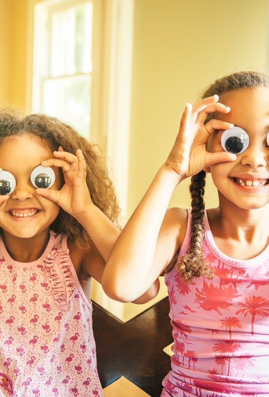 Use googly eyes to jazz up any craft your kids are working on.