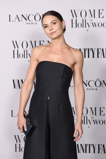 WEST HOLLYWOOD, CALIFORNIA - FEBRUARY 06: Jennifer Morrison attends the Vanity Fair and Lancôme Wome...
